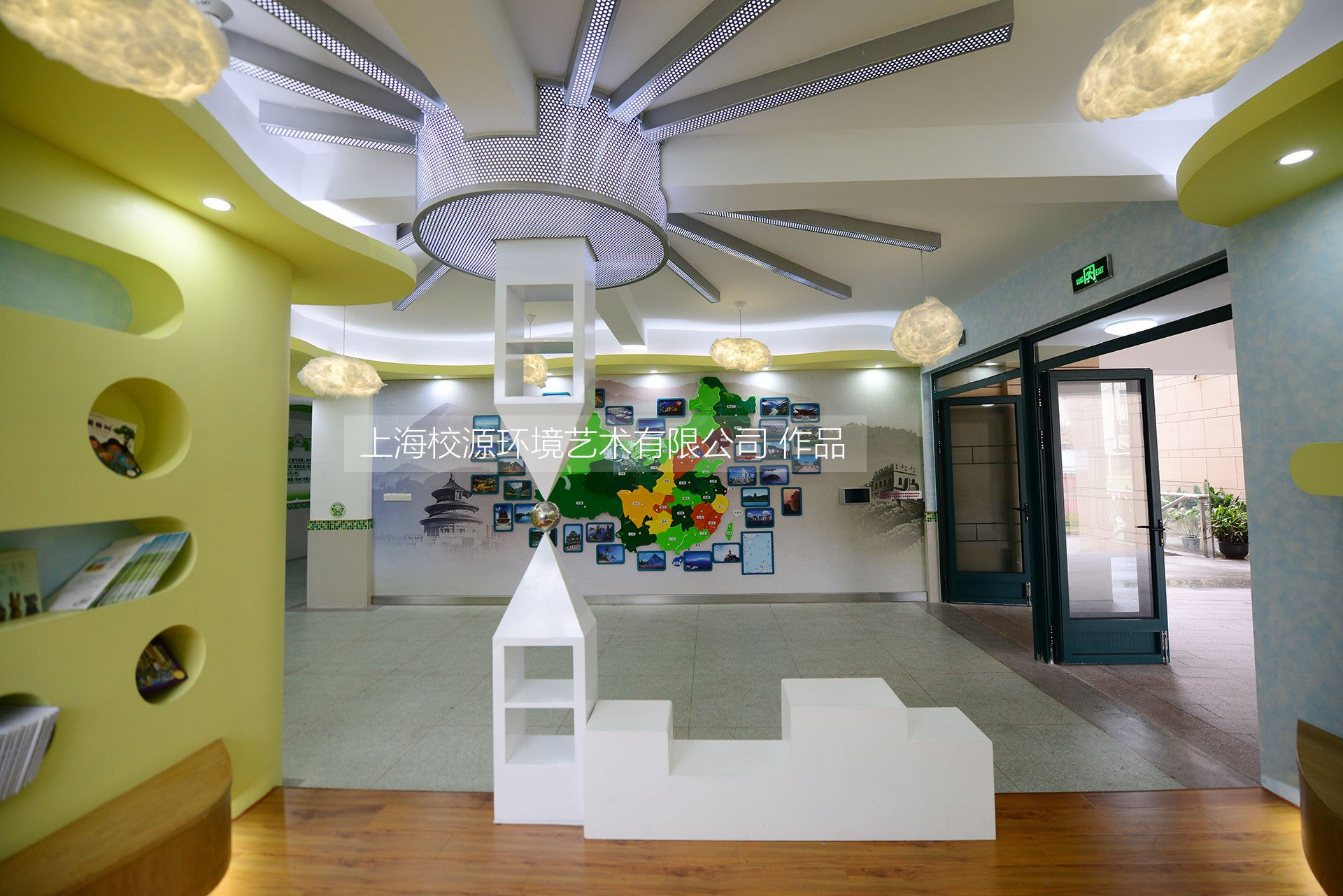 企业文化墙,校园文化,校园雕塑,专用教室