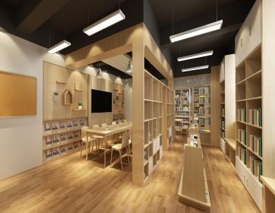 上海市徐汇区樱花园小学图书馆改造项目