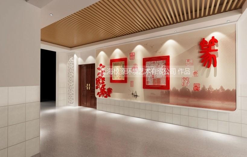 陆行中学南校 校园文化布置  民乐抽象系列雕塑