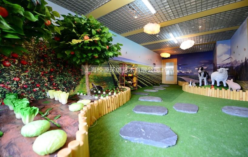 徐汇区上海小学6间英语情景室设计、布置